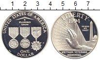 Изображение Монеты США 1 доллар 1994 Серебро Proof