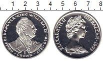 Изображение Монеты Гибралтар 1 крона 1993 Серебро Proof Елизавета II. Король