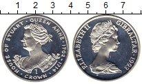 Изображение Монеты Гибралтар 1 крона 1993 Серебро Proof Елизавета II. Короле