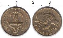 Изображение Монеты Кабо-Верде 1 эскудо 1994 Медь XF Черепаха.