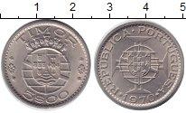 Изображение Мелочь Тимор 5 эскудо 1970 Медно-никель  Протекторат Португал