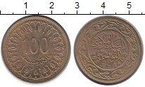Изображение Дешевые монеты Тунис 100 миллим 1983 Бронза XF