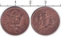 Изображение Дешевые монеты Барбадос 1 цент 1978 Бронза XF