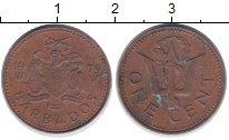 Изображение Дешевые монеты Барбадос 1 цент 1979 Бронза VF