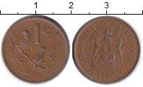 Изображение Барахолка ЮАР 1 цент 1980 Бронза VF
