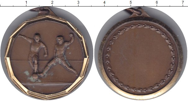 Картинка Дешевые монеты Германия Медаль Бронза 1980