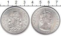 Изображение Мелочь Бермудские острова 1 крона 1964 Серебро UNC- Елизавета II