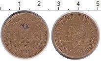 Изображение Монеты Антильские острова 1 гульден 1991 Медно-никель XF