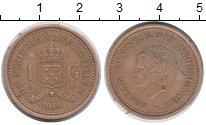 Изображение Монеты Антильские острова 1 гульден 1989 Медь XF