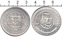 Изображение Монеты Португалия 1000 эскудо 1980 Серебро UNC 400 лет со дня смерт