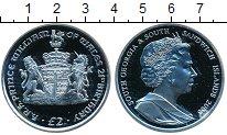 Изображение Монеты Сендвичевы острова 2 фунта 2003 Серебро Proof