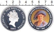Изображение Монеты Острова Кука 1 доллар 2002 Серебро Proof Елизавета II. Короле