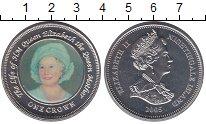 Изображение Монеты Великобритания Тристан-да-Кунья 1 крона 2005 Медно-никель Proof-