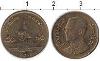 Изображение Дешевые монеты Таиланд 50 сатанг 2006 Латунь XF+