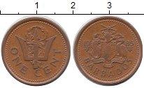 Изображение Дешевые монеты Барбадос 1 цент 1985 Бронза XF
