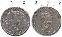 Изображение Барахолка Швеция 1 крона 2000 Медно-никель XF