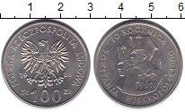 Изображение Монеты Польша 100 злотых 1988 Медно-никель XF 70 лет  ВеликоПольск