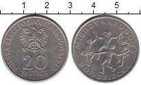 Изображение Монеты Польша 20 злотых 1979 Медно-никель XF