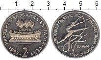 Изображение Монеты Болгария 2 лева 1987 Медно-никель UNC
