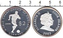 Изображение Монеты Острова Кука 2 доллара 2003 Серебро Proof-