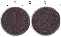 Изображение Монеты Нидерланды 1 цент 1900 Медь XF