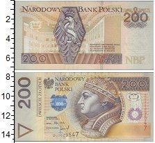Изображение Банкноты Польша 200 злотых 0  XF