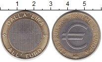 Италия монетовидный жетон 2000 Биметалл