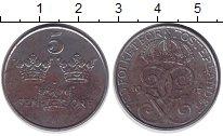 Изображение Дешевые монеты Швеция 5 эре 1947 Железо XF