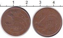 Изображение Дешевые монеты Бразилия 5 сентаво 2011 Бронза XF