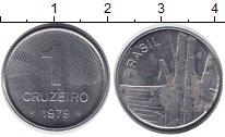 Изображение Барахолка Бразилия 1 крузейро 1979 Железо XF