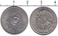 Изображение Барахолка Мексика 20 сентаво 1978 Медно-никель XF