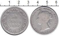 Изображение Монеты Ньюфаундленд 50 центов 1889 Серебро XF
