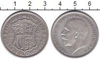 Изображение Монеты Великобритания 1/2 кроны 1936 Серебро XF