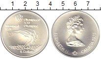 Изображение Монеты Канада 5 долларов 1975 Серебро UNC