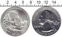 Изображение Монеты США 1/4 доллара 2010 Серебро UNC