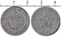 Изображение Дешевые монеты Куба 5 сентаво 1963 Алюминий VG