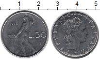 Изображение Дешевые монеты Италия 50 лир 1978 Медно-никель
