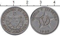 Изображение Дешевые монеты Куба 5 сентаво 1968 Алюминий XF