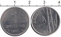 Изображение Барахолка Бразилия 1 крузейро 1980 Медно-никель