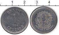 Изображение Дешевые монеты Бразилия 1 крузадо 1986 Медно-никель