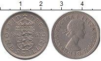 Изображение Барахолка Великобритания 1 шиллинг 1963 Медно-никель XF