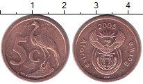 Изображение Мелочь ЮАР 5 центов 2011 Медь XF
