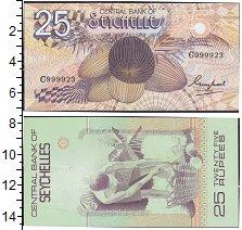 Изображение Банкноты Сейшелы 25 рупий 0  XF