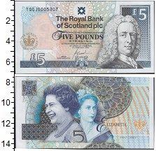 Изображение Банкноты Великобритания Шотландия 5 фунтов 2002  UNC