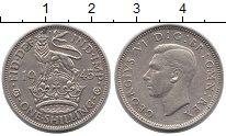 Изображение Монеты Великобритания 1 шиллинг 1945 Медно-никель XF Георг VI. Английский