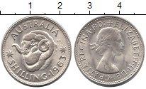 Изображение Монеты Австралия 1 шиллинг 1963 Медно-никель UNC