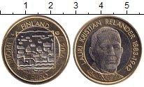 Изображение Мелочь Финляндия 5 евро 2016 Биметалл UNC Лаури  Реландер.