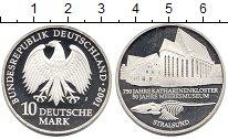 Изображение Монеты ФРГ 10 марок 2001 Серебро Proof 750 - летие  церкви