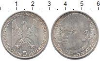 Монета ФРГ 5 марок Серебро 1978 UNC-
