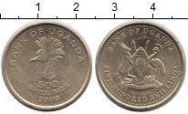 Изображение Монеты Уганда 500 шиллингов 2008 Латунь XF